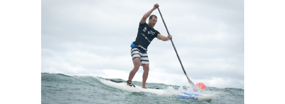 Ryan James stand up paddle