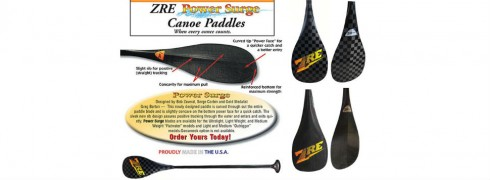 ZRE Power Surge paddle blade